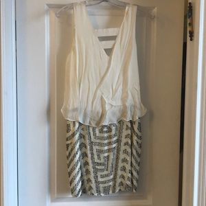 Cute white Parker dress NEW WITH TAGS